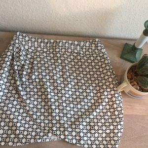 Banana Republic Geometric Skirt